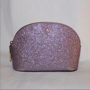 Kate Spade Glitter Makeup Bag